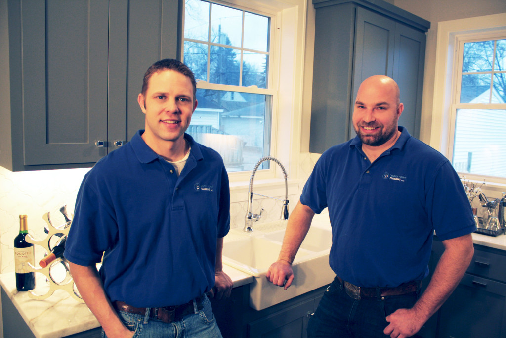 Justin and Jim of Center Point Plumbing