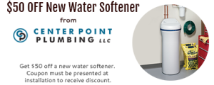for $50 off a New Water Softener